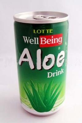 Aloe vera canned