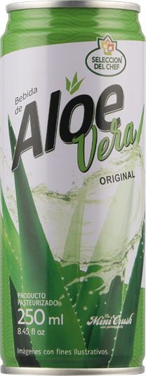 Canned Aloe vera drink