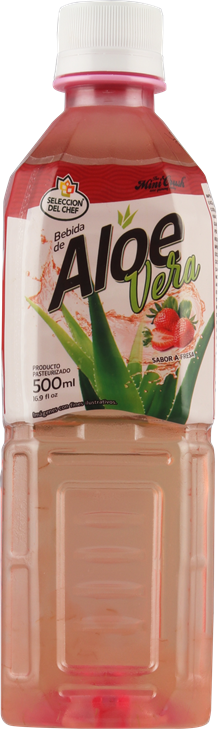 Aloe vera drink Strawberry flavor